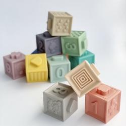 Набор силиконовых кубиков для детей Баловень Good Cube