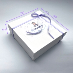 Подарочная коробка Баловень White Baby Box